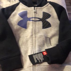NWT zip up underarmour jacket